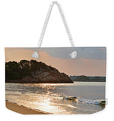 Singing Beach Silver Waves Manchester By The Sea Ma Weekender Tote Bag