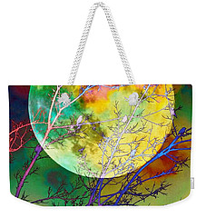 Singing By The Light Of The Moon Weekender Tote Bag