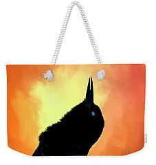 Singing  Weekender Tote Bag by Cyndy Doty
