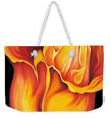 Singing Tulip Weekender Tote Bag