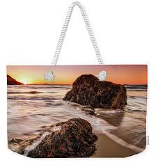 Singing Water, Singing Beach Weekender Tote Bag