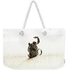 Single And Open Weekender Tote Bag
