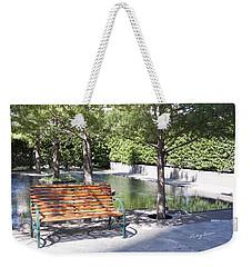 Single Bench Weekender Tote Bag