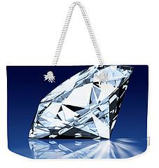 Single Blue Diamond Weekender Tote Bag