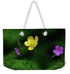 Single Buttercup Two Stinky Bob Weekender Tote Bag