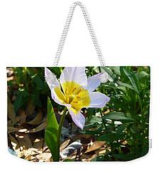 Single Flower - Simplify Series Weekender Tote Bag by Carla Parris