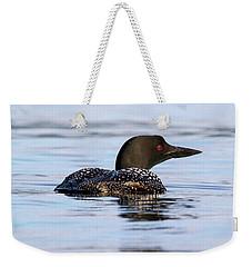 Single Loon Weekender Tote Bag