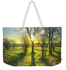 Weekender Tote Bag featuring the photograph Single Moments by Phil Koch
