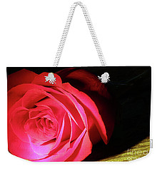 Single Rose  Weekender Tote Bag