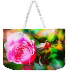 Single Rose11 Weekender Tote Bag