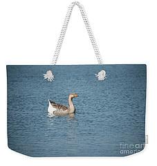 Single Swimmer Weekender Tote Bag