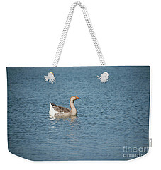 Single Swimmer Weekender Tote Bag