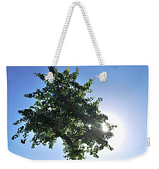 Single Tree - Sun And Blue Sky Weekender Tote Bag