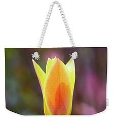 Single Tulip Weekender Tote Bag