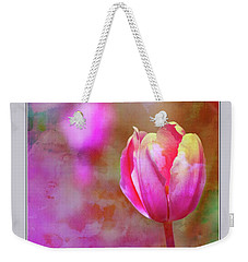 Single Tulip Weekender Tote Bag