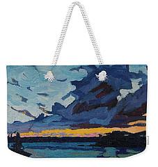 Singleton Sunset Stratocumulus Weekender Tote Bag