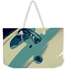 Sink Weekender Tote Bag by Linda Bianic