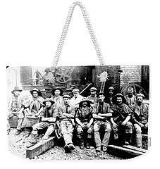 Sinkers,rossington Colliery,1915 Weekender Tote Bag