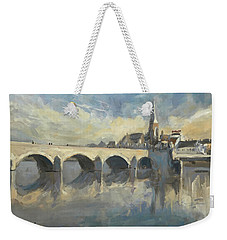 Sint Servaas Bridge Maastricht Weekender Tote Bag