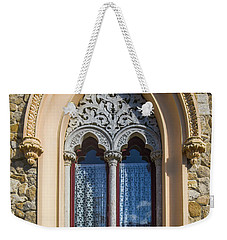 Weekender Tote Bag featuring the photograph Sintra Window by Carlos Caetano