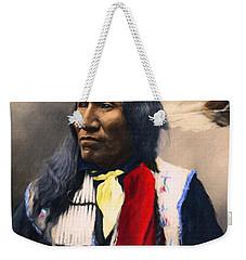 Sioux Chief Portrait Weekender Tote Bag