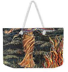 Sioux Woman Dancing Weekender Tote Bag