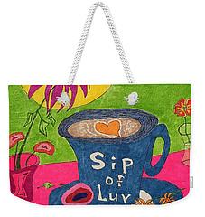 Sip Of Luv Weekender Tote Bag