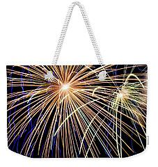 Sister Bay Fireworks Weekender Tote Bag