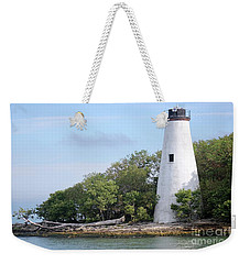 Sister Island Lighthouse Weekender Tote Bag