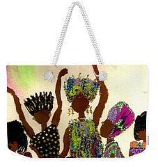 Sisterhood Weekender Tote Bag by Angela L Walker