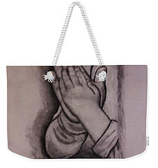 Sisters' Hands Weekender Tote Bag by Christy Saunders Church