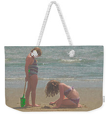 Sisters In The Sand Weekender Tote Bag