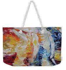 Sisters Weekender Tote Bag by Marat Essex