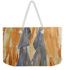 Sisters Weekender Tote Bag by Vicki  Housel
