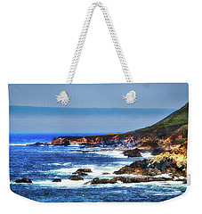 Weekender Tote Bag featuring the photograph Sit And Stare Beach by Joseph Hollingsworth