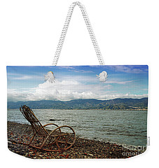 Sit Back And Enjoy Weekender Tote Bag