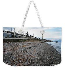Sit Back And Enjoy The Sea Weekender Tote Bag by Ana Mireles