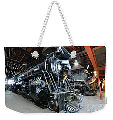 Sitting In The Roundhouse  Weekender Tote Bag by Paul W Faust - Impressions of Light