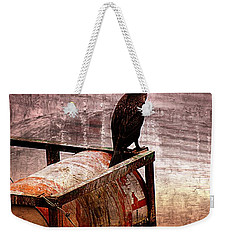 Sitting On The Dock Of The Bay Weekender Tote Bag by Clare Bevan