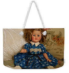 Weekender Tote Bag featuring the photograph Sitting Pretty by Marna Edwards Flavell
