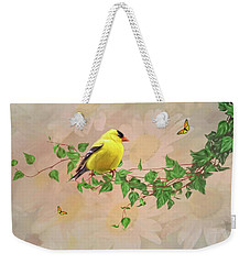 Sitting Pretty Weekender Tote Bag by Mary Timman