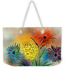 Six Flowers - E Weekender Tote Bag