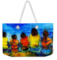 Six On The Shore  Weekender Tote Bag