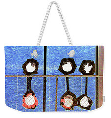 Six Punches Weekender Tote Bag