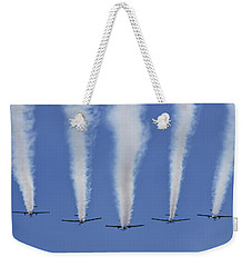 Weekender Tote Bag featuring the photograph Six Roolettes In Formation by Miroslava Jurcik