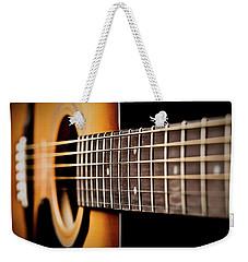 Six String Guitar Weekender Tote Bag