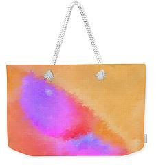 Weekender Tote Bag featuring the digital art Sixty Watts by Aliceann Carlton