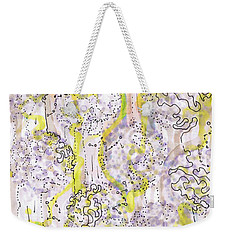 Size Exclusion Chromatography Weekender Tote Bag by Regina Valluzzi