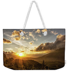 Skagit Valley Sunset Weekender Tote Bag