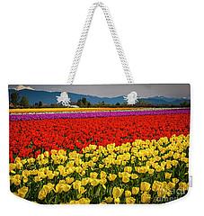 Skagit Valley Tulips  Weekender Tote Bag